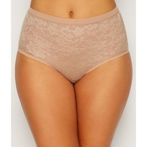NWT!Le Mystere Lace Perfection Brief -Small